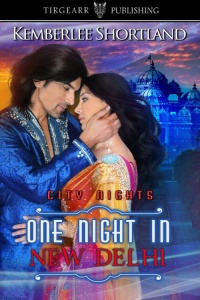 Cover of One Night in New Delhi by Kemberlee Shortland